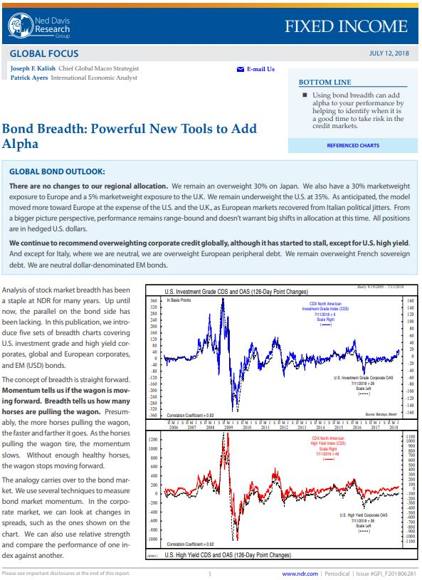 7.13.18 Bond Breadth Powerful New Tools to Add Alpha